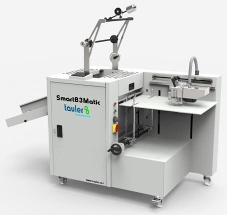 Tauler attends to the C! Print Madrid show with the SmartB3Matic laminator and the Tauler FOIL kit