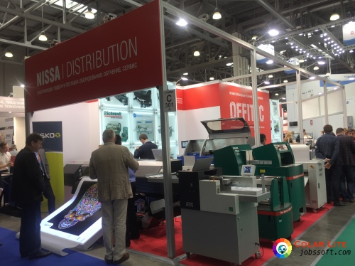 Tauler attends Russian Printech show with its reseller: Nissa Distribution